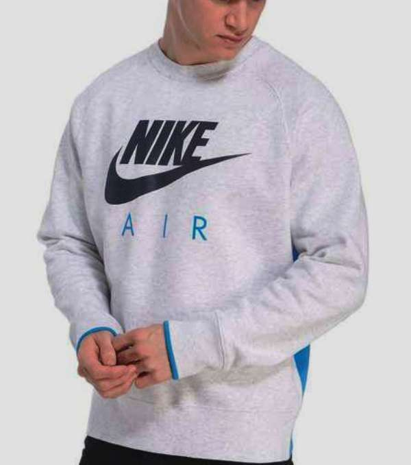 BLUZA NIKE AIR CREW FLEECE 823633 051 R.L