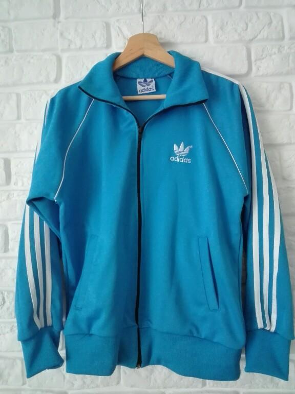 Bluza Adidas Niebieska Rozmiar M 38 Rozpinana 7288474110 Oficjalne Archiwum Allegro