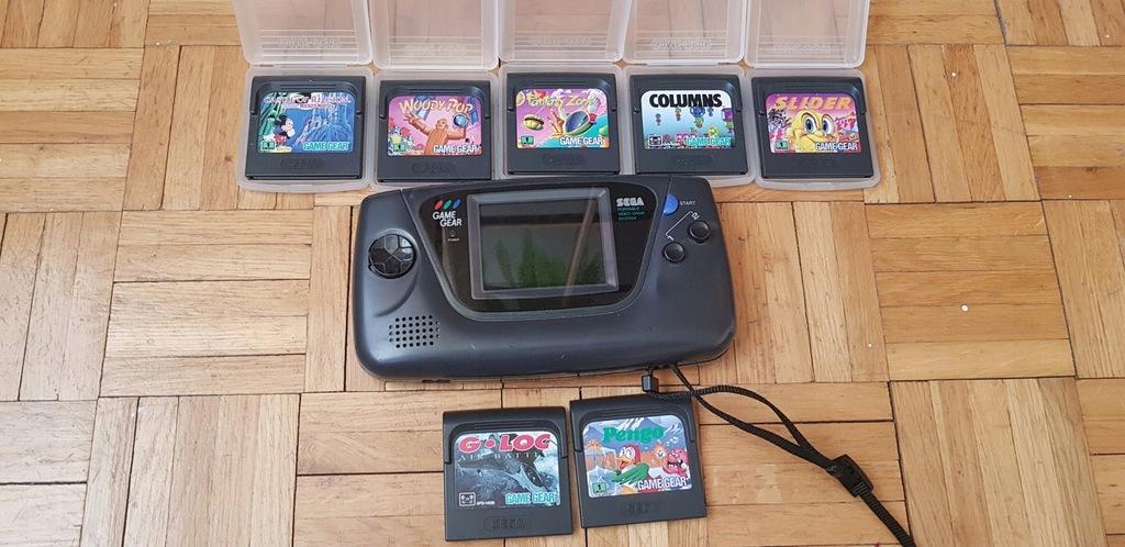 Sega Game Gear +gry