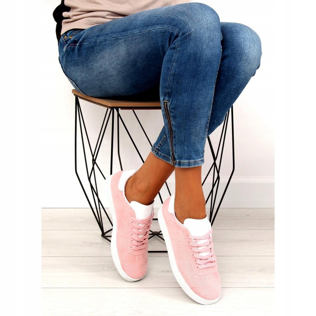 Trampki damskie różowe BL131P pink r.36 7677372675