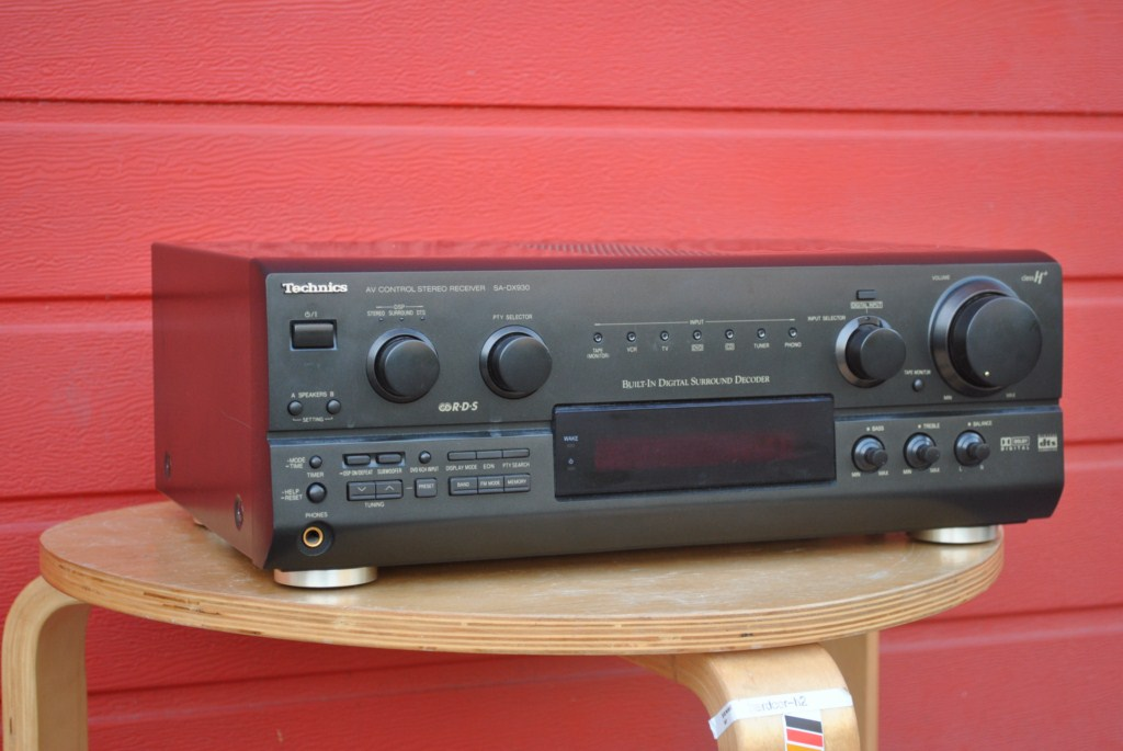 Technics SA-DX930 Amplituner Dolby RDS AUX DTS H+
