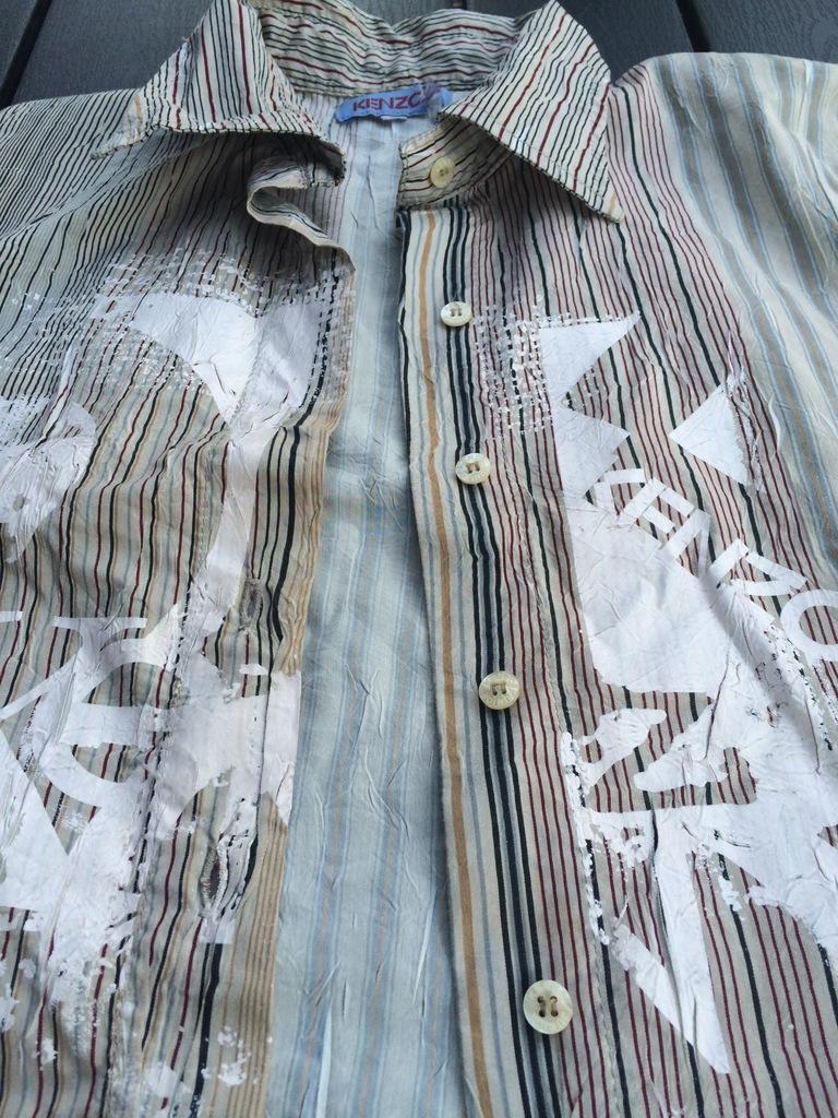 Kenzo koszula bluzka tunika r.S oryginalna 7143414773