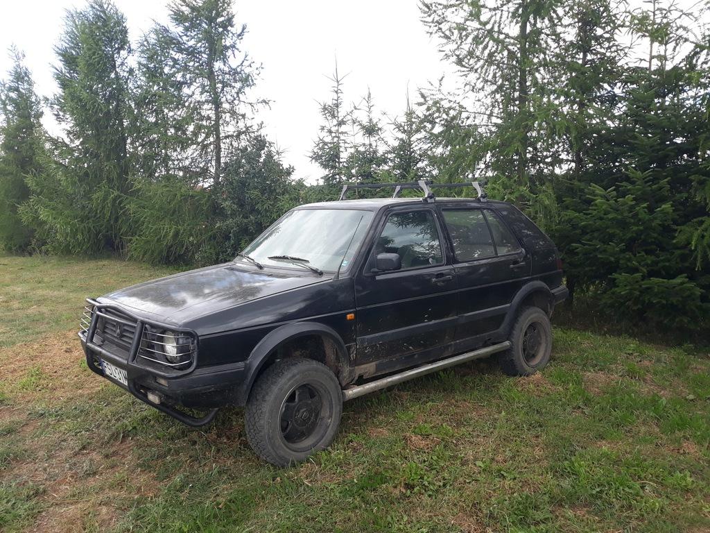 Golf Mk2 Country Syncro 1 9 Td 7463754954 Oficjalne Archiwum Allegro