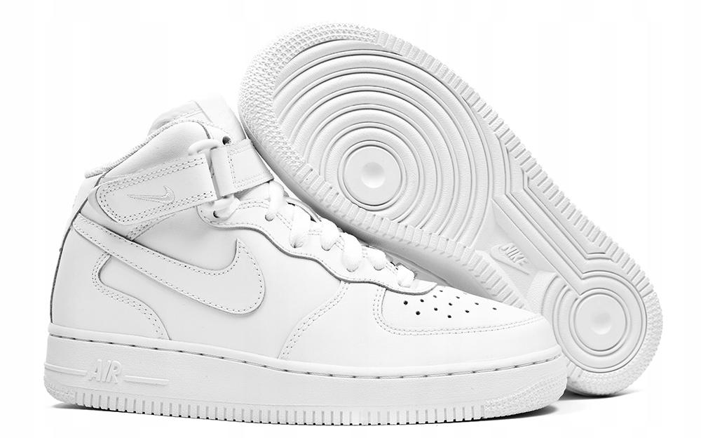 Buty Damskie Nike Air Force 1 Mid r.38,5 za Kostkę