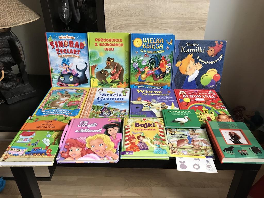 Zestaw książek dla dzieci do 5 lat + GRATIS! - 7191691314 ...