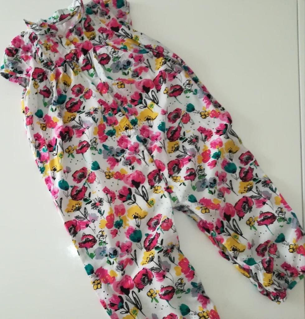 M&S_ kombinezonik-rampers w kwiatuszki_18-24m