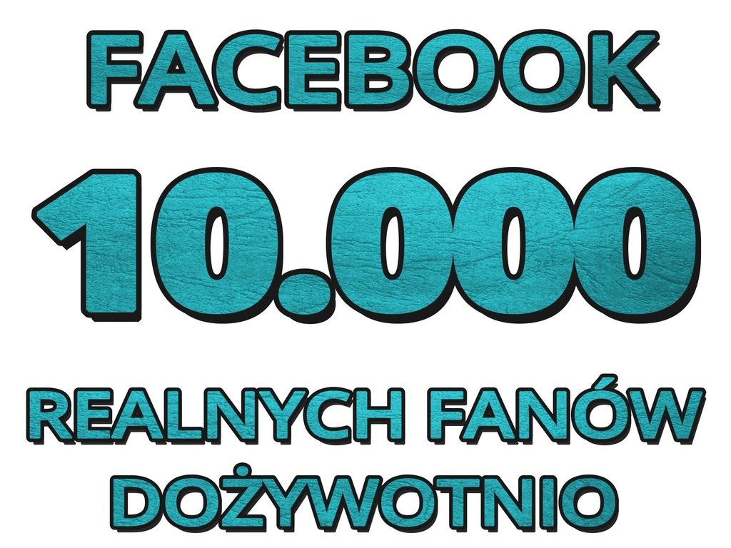 10000 Lajki Facebook Fanpage Like Polubienia Fvat 7136412277 Oficjalne Archiwum Allegro