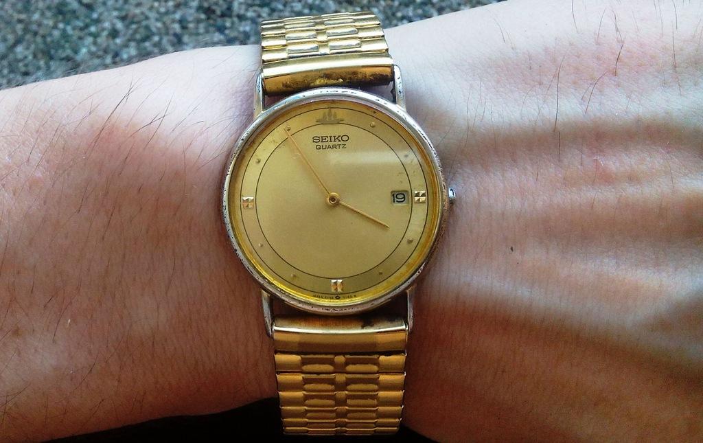 Piękny, japoński zegarek Seiko 5Y39-7010 RO