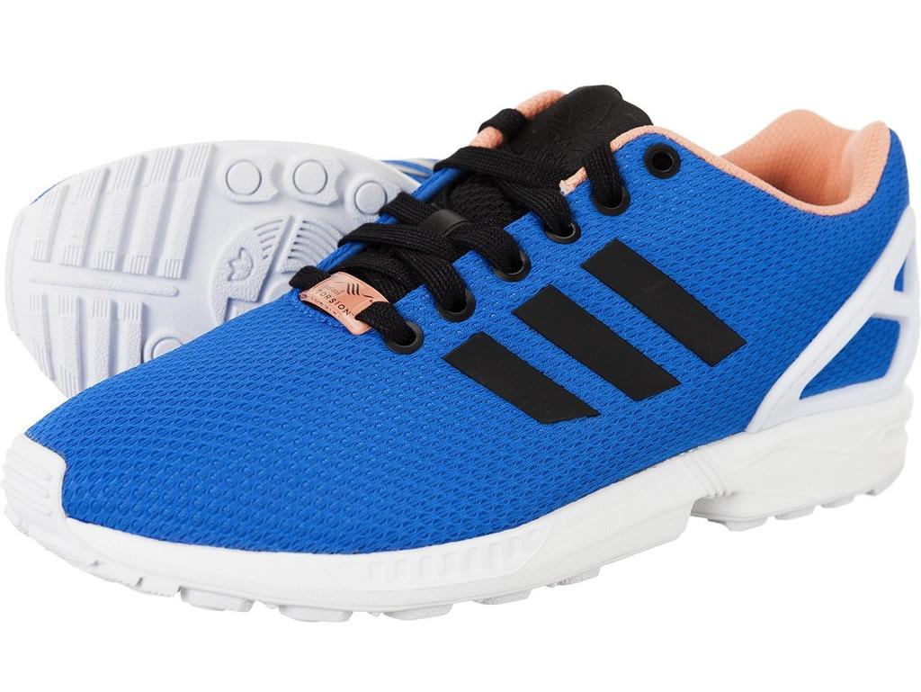 Adidas ZX Flux 37 Buty Niebieskie Damskie 501