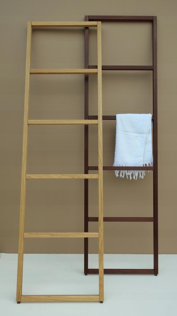 Wieszak na ręczniki drabinka drewniany- KOSPOD