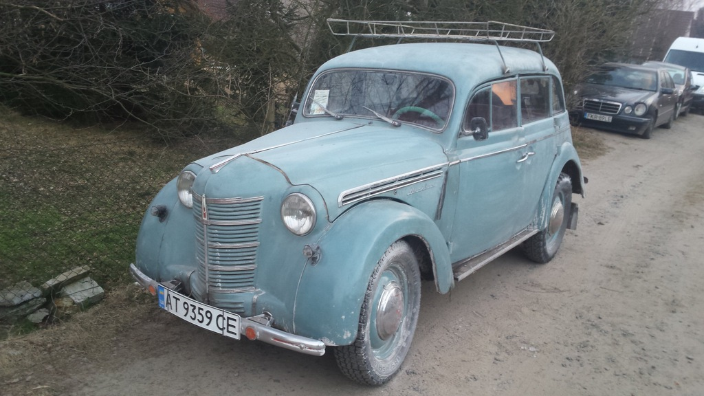 Moskwicz 401 stan bdb 1955 r