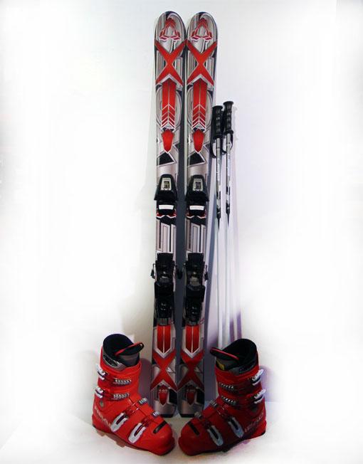 Komplet Narty Axces 140cm Buty R 38 5 Kije 7137447821 Oficjalne Archiwum Allegro