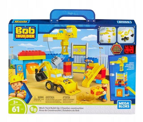 Klocki Mega Bloks Bob Budowniczy Plac Budowy 61 El 7667455957 Oficjalne Archiwum Allegro