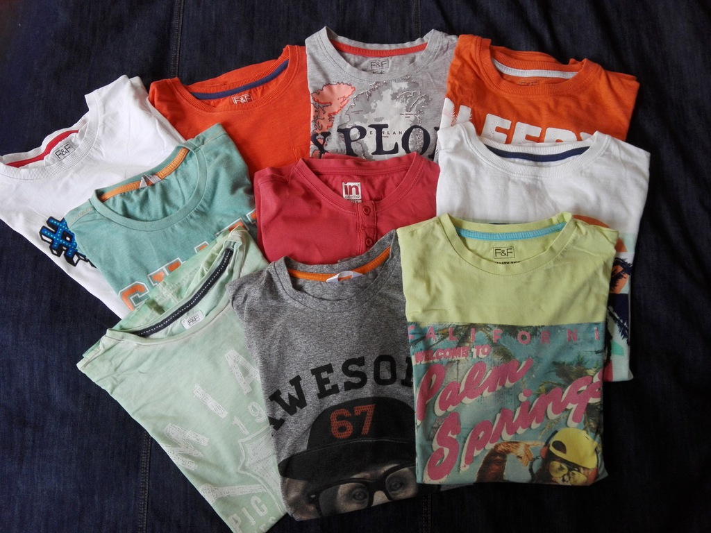 F&F - koszulki dla chlopca