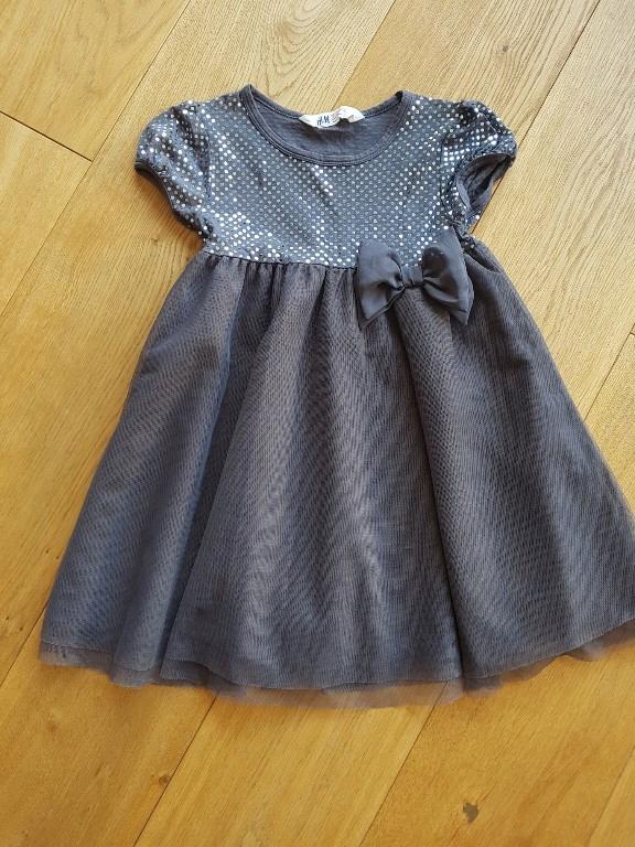 H&M sukienka święta 122/128