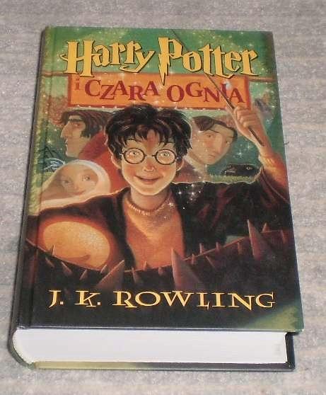 J K Rowling Harry Potter I Czara Ognia 7709577154 Oficjalne Archiwum Allegro