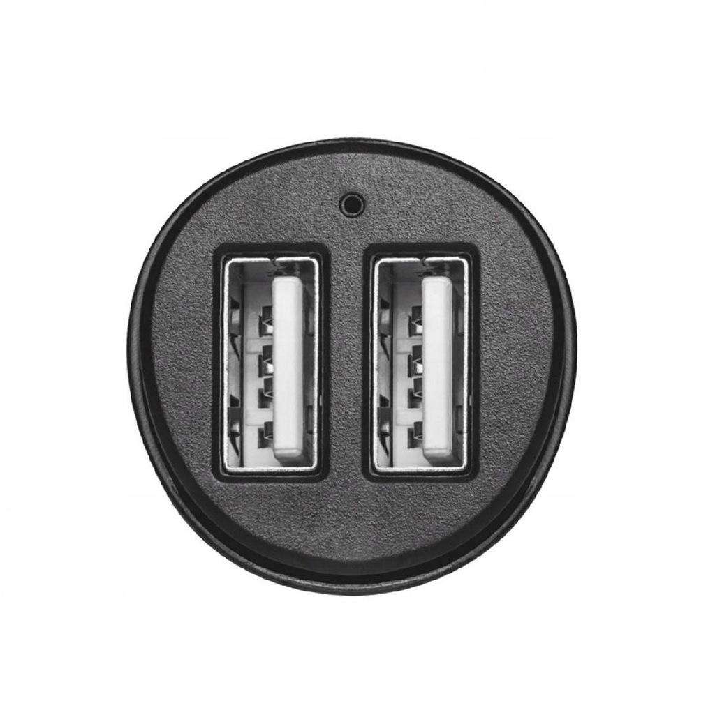 TRUST 2x12W Fast Dual USB Ładowarka samochodowa