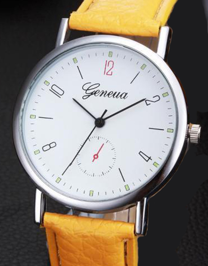 Zegarek Damski Geneva Klasyk + Bateria 1zł BCM zPL