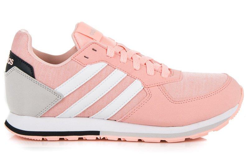 Różowe Tekstylne Buty Sportowe Adidas rozmiar 39