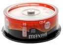 PŁYTY do muzyki MAXELL CD-R 80 min  AUDIO 25 sztuk