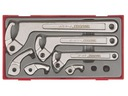 Klucze hakowe w zestawie Teng Tools