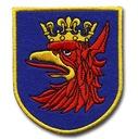 Naszywka Szczecin - Herb Szczecina