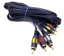Przyłącze kabel CHINCH 3x RCA 0,5m F.VAT