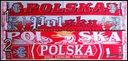 DWUSTRONNY SZALIK KIBICA REPREZENTACJI POLSKI 160