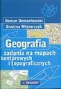 Geografia zadania na mapach konturowych i topogr.