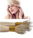 NANORINGI włosy naturalne 40cm pasemka NANO RINGI