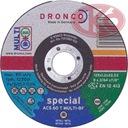 DRONCO Tarcza do cięcia uniwersalna SPECJAL 125x1,