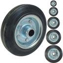 Koło stalowo gumowe wózek kółko 125 mm koła kółko