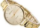 Zegarek blogerek GENEVA złoty srebrny bransoletka