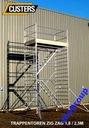 rusztowania aluminiowe klatka schodowa schodnia