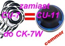 Niezniszczalny przycisk CU-11 zamiast CU-7 w CK-7W