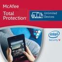 McAfee Total Protection 2017 bez limitu PL FVAT