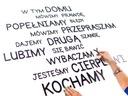 DOWOLNY TEKST napisy Z DREWNA literki na ścianę!