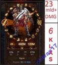 DIABLO 3 PS4 SET Nieśmiertelność 23mld+ DMG