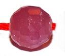 Natürlichen Rubin Kugel facettiert ca. 5,5 mm