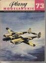 PM nr 73 Samolot LOCKHEED P-38 LIGHTNING