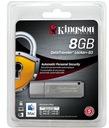 Pendrive USB 8GB Kingston 8GB DT Locker+ G3 AutoSe