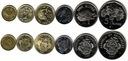 SESZELE zestaw 6 monet