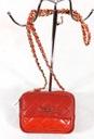 NOBO Torebka czerwona listonoszka pikowana mała