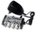 Wzmacniacz rozdzielacz antenowy TV ARA-1/4F DVB-T
