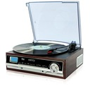 GRAMOFON Z RADIEM AM/FM LCD ZEGAR AUX CAMRY CR1113