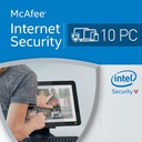 McAfee Internet Security PL 2017 10 PC F-VAT