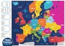 Mapa Europy zdrapka PRODUKT POLSKI EUROPA