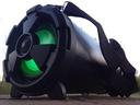 Radio Tuba Bluetooth Boombox Karaoke Wieża MP3 USB Kolor czarny