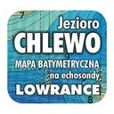 Jezioro Chlewo mapa na echosondy Lowrance Simrad