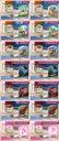 Łóżko dziecięce 140x70 szuflada materac Dąb Sonoma Długość 144 cm